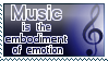 Music Stamp by McNikk
