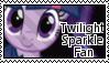 Twilight Sparkle Stamp by McNikk