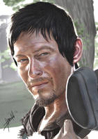 Daryl Dixon Finished by ChevronLowery