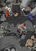 Batman Suit Redesign (also garbage) Now in color! by ChevronLowery