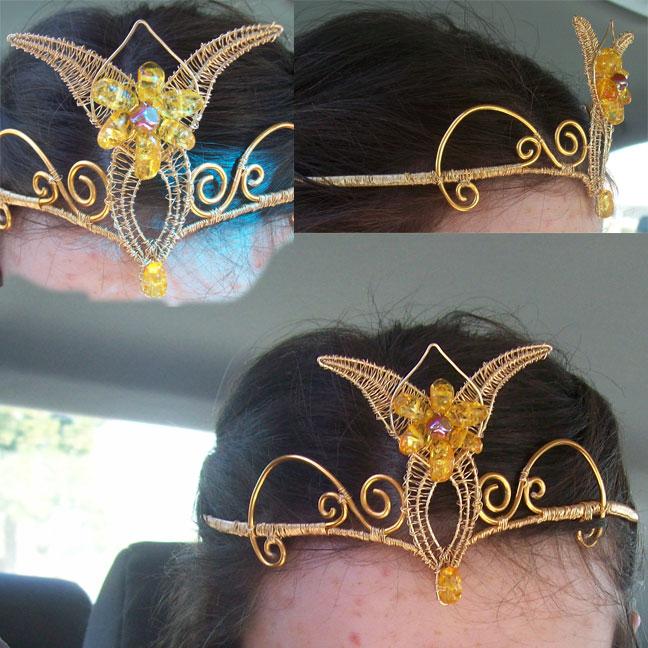 how to make arwen crown