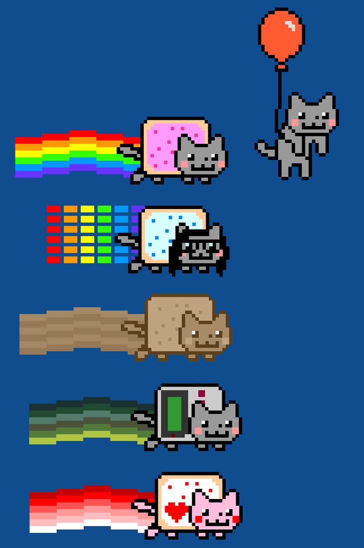 Groß Nyan Cat Malvorlagen Galerie - Malvorlagen Von Tieren - ngadi.info
