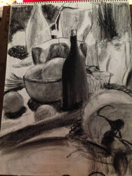 charcoal still-life 2 by votederpycausemufins
