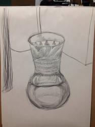 Object study- vase by votederpycausemufins