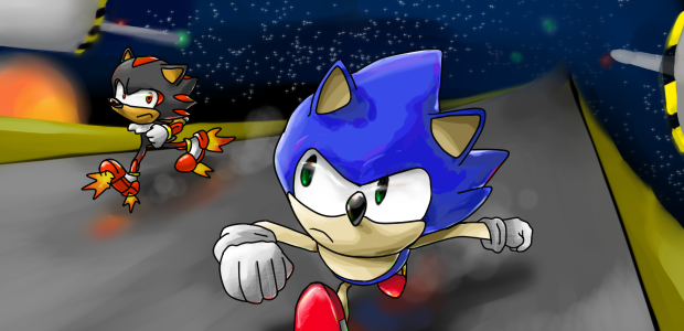 Sonic vs shadow sa2 classic by castle com on deviantart - Jeux de sonic vs shadow ...
