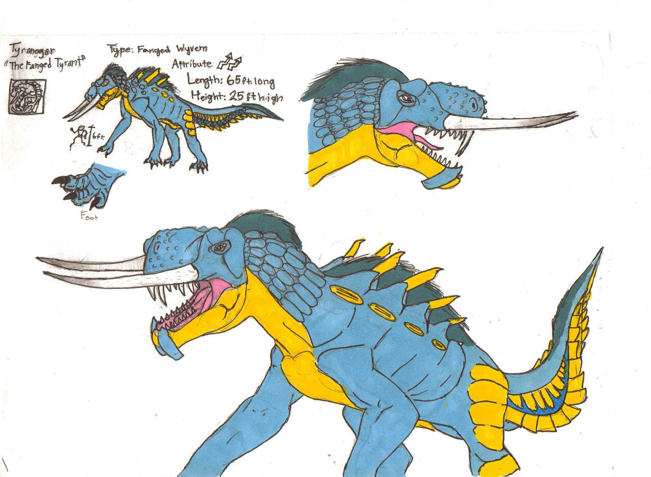 Monster hunter concept tyrannogar by