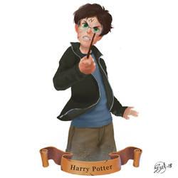 Harry Potter by gizellekaren