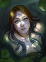 Water Princess by gizellekaren