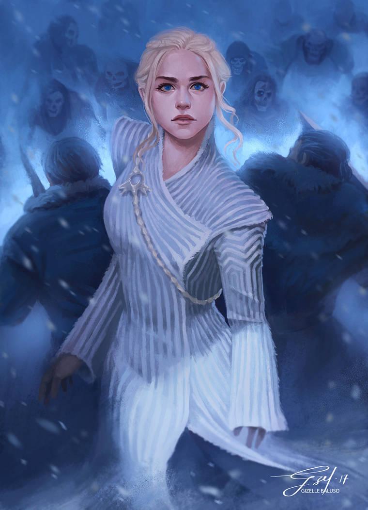 Daenarys, Mother of Dragons by gizellekaren