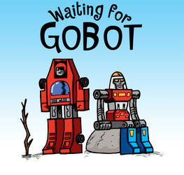 Waiting for GoBot by Zircules