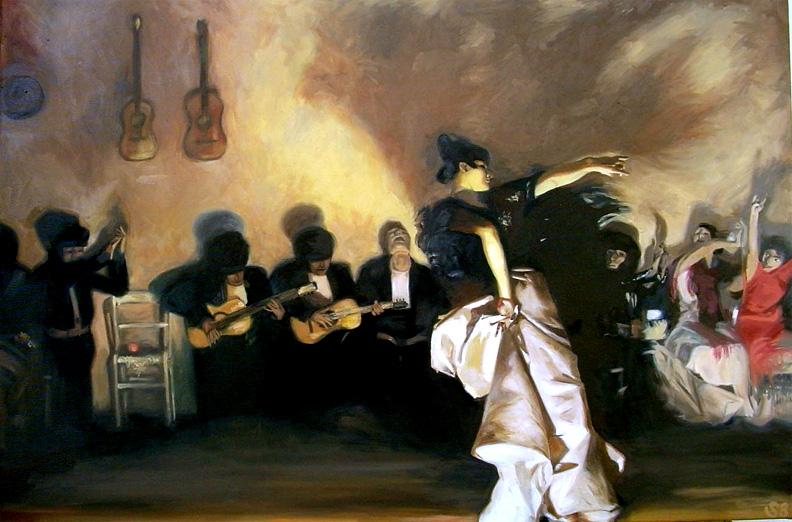 El Jaleo - John Singer Sargent by guernica2009