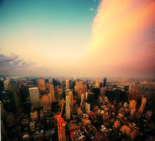 Top of the Empire State V by martinasdf