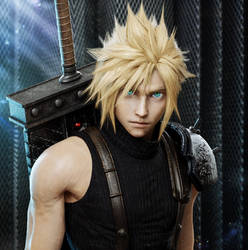 Final Fantasy VII Remake - Cloud Strife