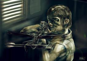 Daryl Dixon - Walking Dead by l3raindead