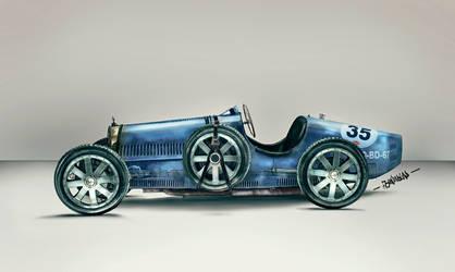 Bugatti - Type 35 by l3raindead