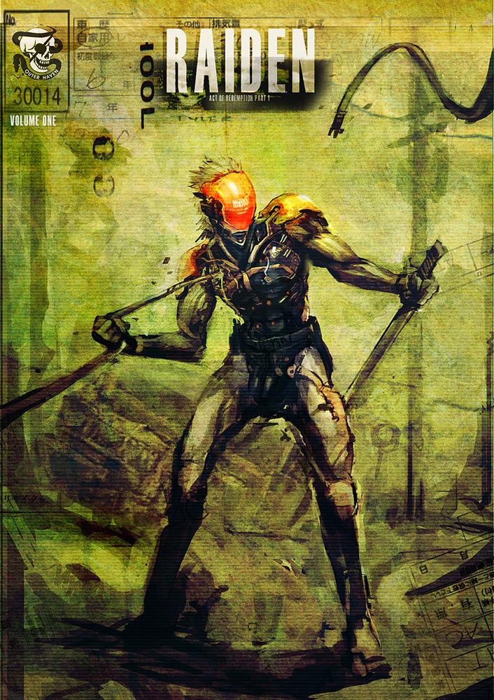 Raiden comic mockup 1 by Scuro