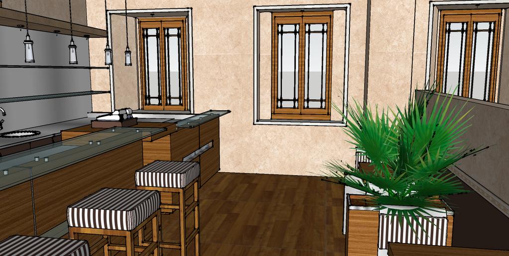 Cafe interior sketchup by msroserevolution on deviantart