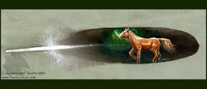 Quarter Horse Feather