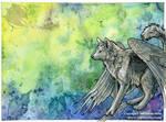 Winged Wolf Vernation