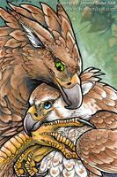 Gryphon Hug by Nambroth