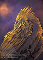 Preening Phoenix by Nambroth