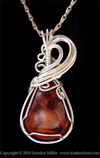 Thuya Burl Pendant by Nambroth