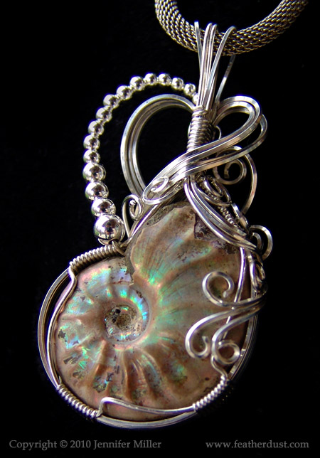 Chelsea S Ammonite Pendant By Nambroth On Deviantart