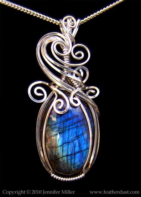 Blue Zephyr Labradorite by Nambroth