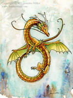 Coily Eastern Dragon by Nambroth