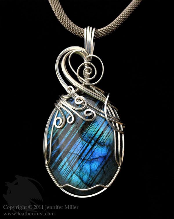 Blue Bands Labradorite by Nambroth