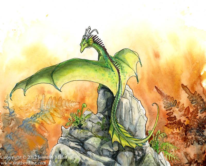 Little Fern Dragon by Nambroth