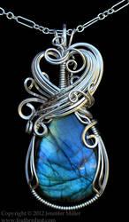 Dreamer's Wish Labradorite Pendant by Nambroth