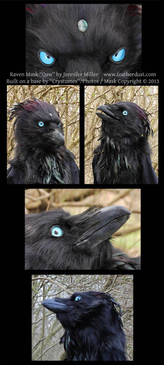 Raven Mask by Nambroth