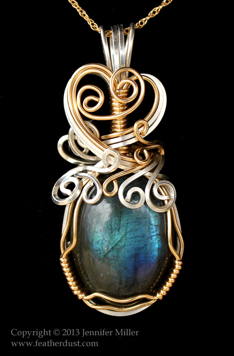 Bluesong Labradorite Pendant by Nambroth