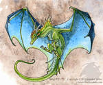 Azure-Winged Dragon