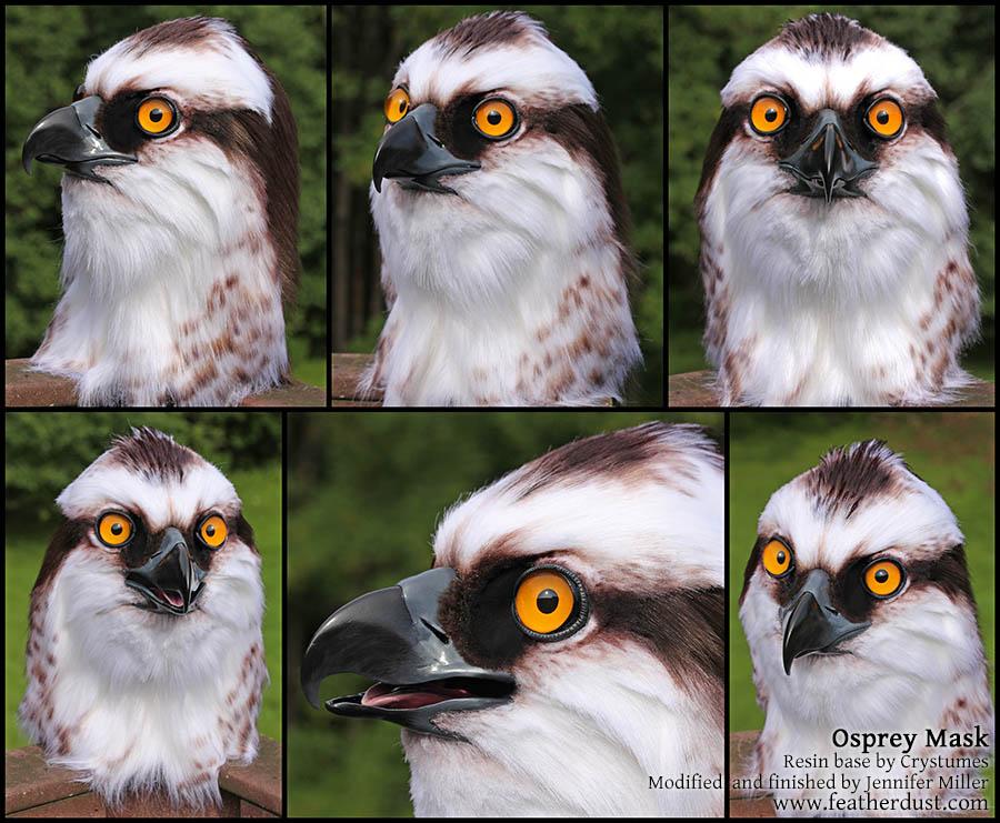 Lett, the Osprey (Mask) by Nambroth
