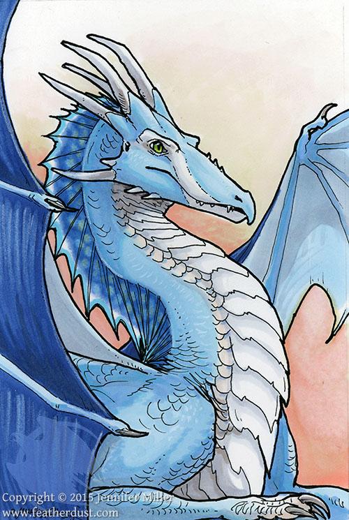 Blue Dragon by Nambroth