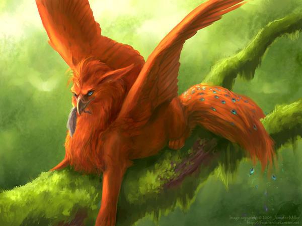 мифические красивые животные картинки