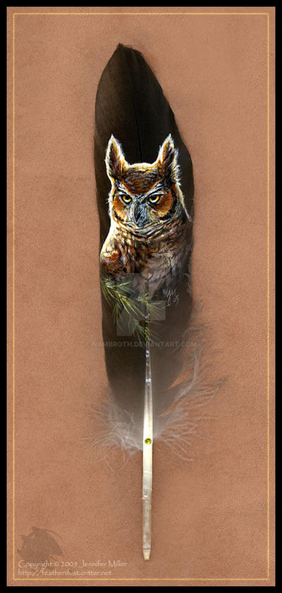 Great Horned Owl by Nambroth