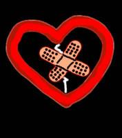 Bandaid Heart by penguin-stock