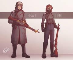 Heltic Empire 'Bannermen'