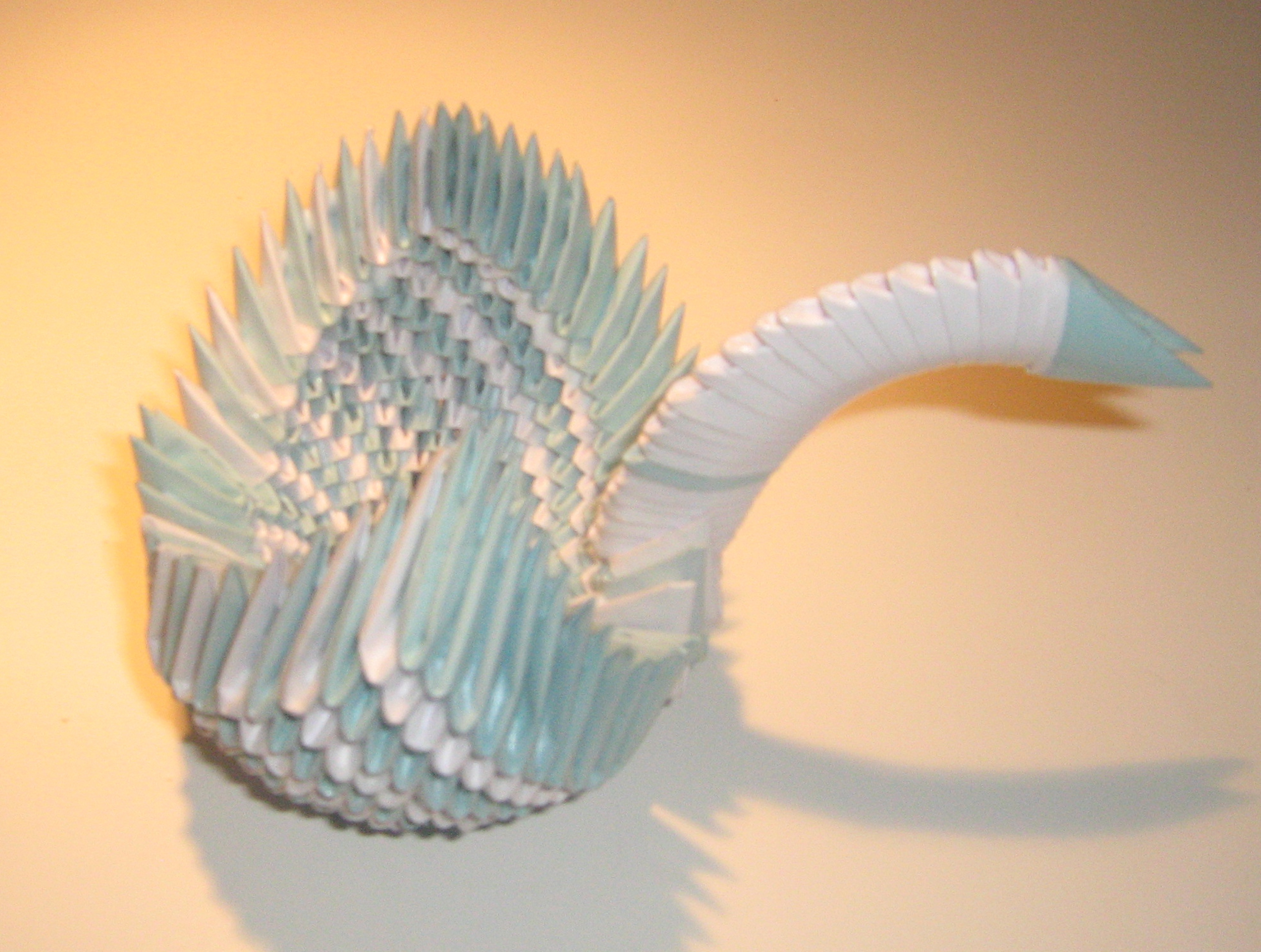 3D origami swan 2 by origami-maniac on DeviantArt - photo#45