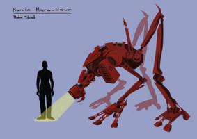 Maraudeur_model_sheet by Achdef