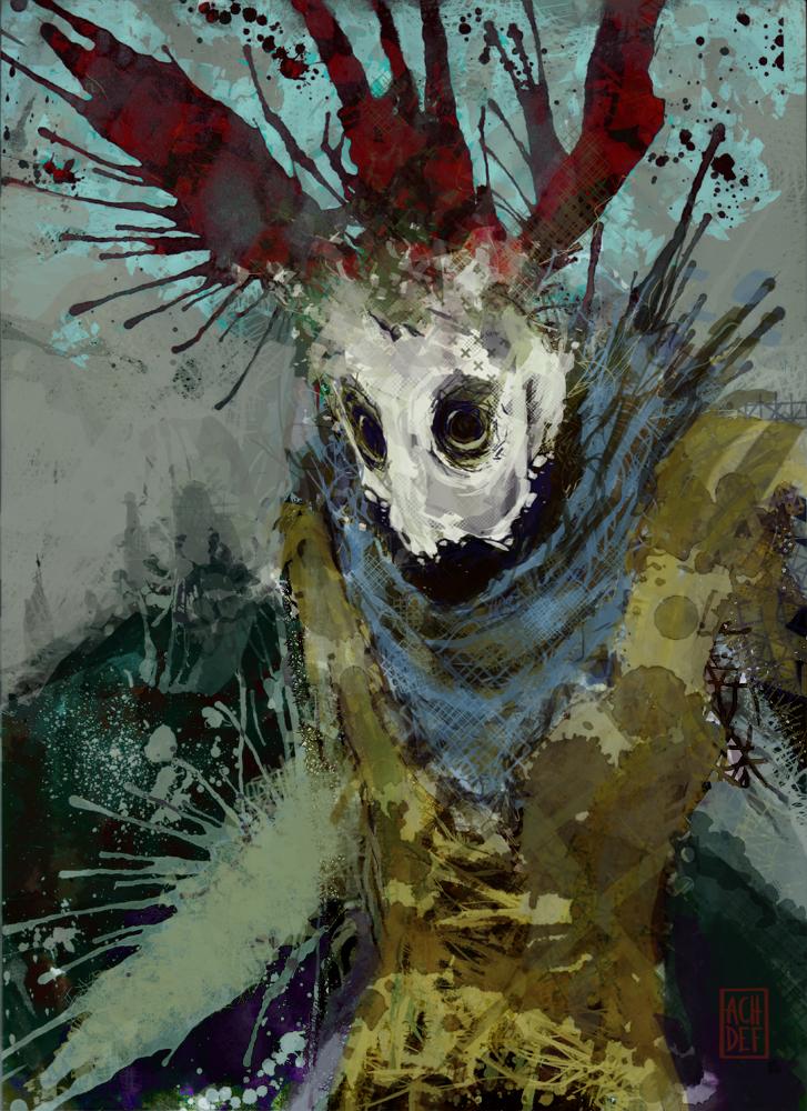 Clown by Achdef