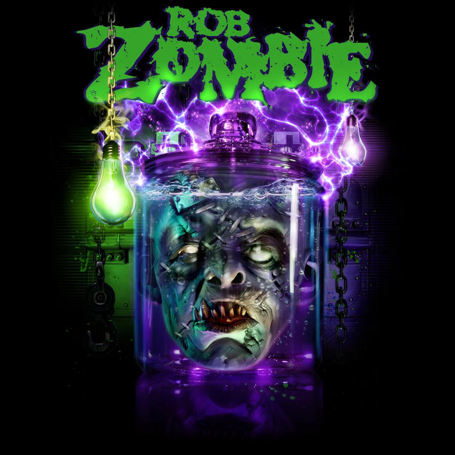 Zombie Artwork Wallpaper Rob Zombie Jarhead by ...