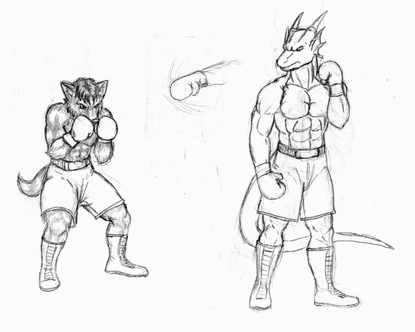 Pictures Of Fighter Boxer Drawing Kidskunst Info