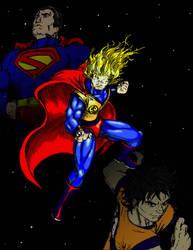 The Supermen Unite by NCredibleCarl