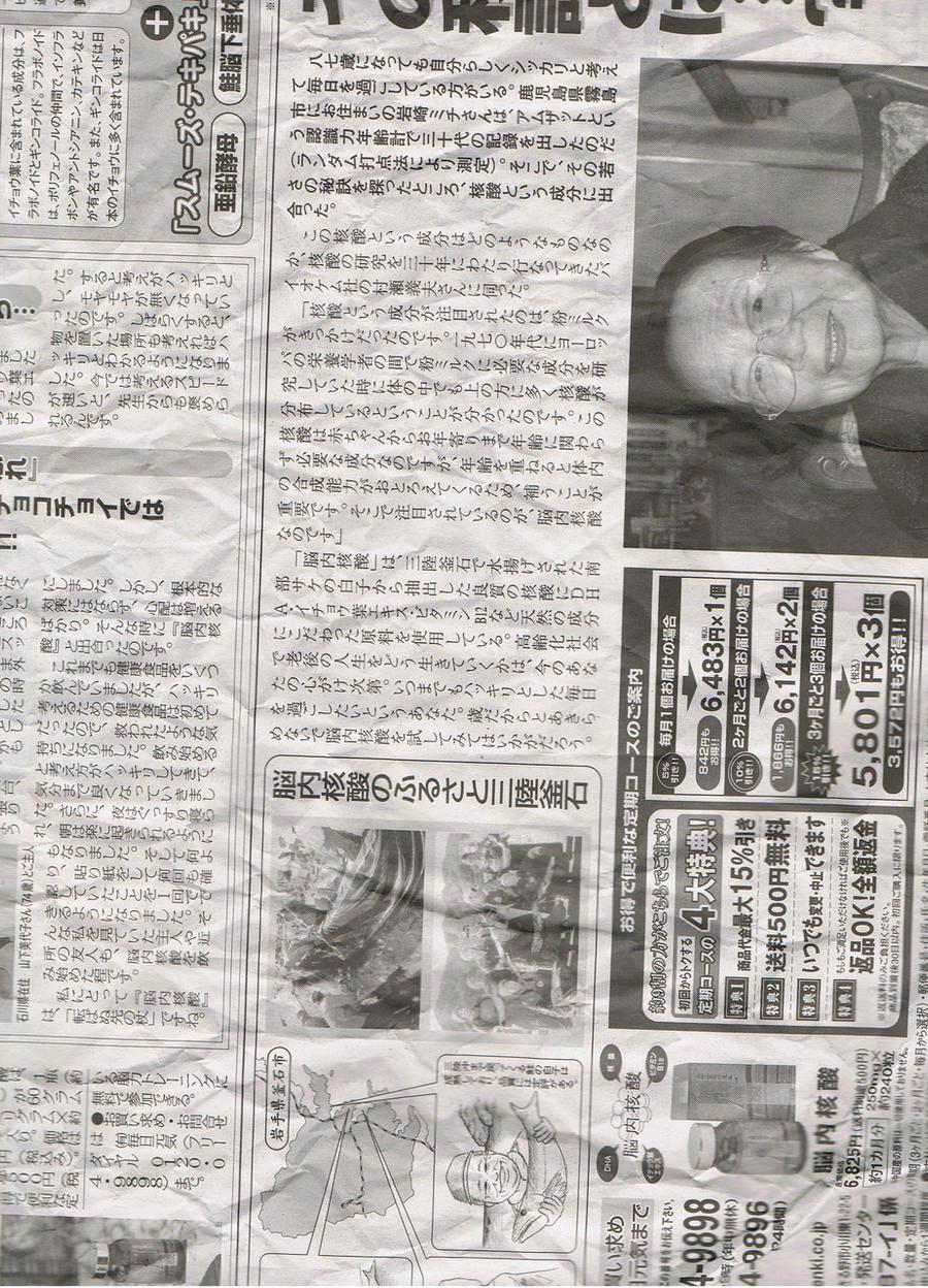 Japanese Newspaper 7