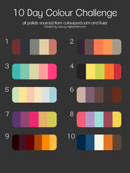 10 day colour challenge