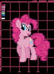 Pinkie Pie Cross Stitch Pattern